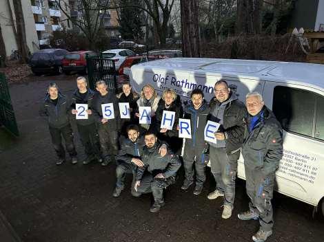 Olaf Rathmann mit seinem freundlichen Team!